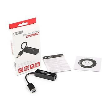 Dark DK-NT-U3GLAN USB 3.0 to RJ45 Gigabit Ethernet USB Etnernet Að  Adaptörü