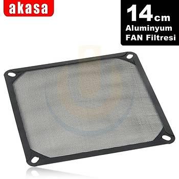 Akasa AK-GRM140-AL01-BK 14 cm Full Aluminyum Temizlenebilir Kasa Filitresi