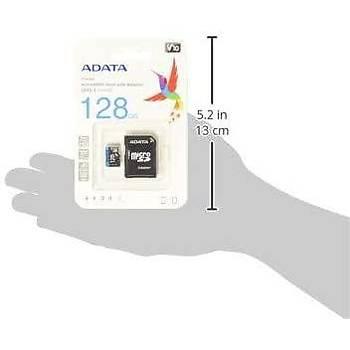 Adata DX128GUICL10A1-RA1 128 GB 80MB/s Premier UHS-I Class 10 microSDXC Kart