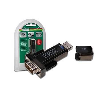 Digitus DA-70156 USB 2.0 to RS232 Seri Erkek-Erkek Çevirici Adaptör