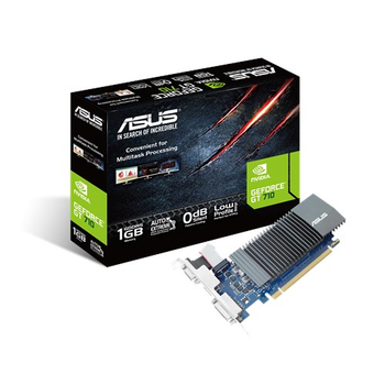 Asus GT710-SL-1GD5 1 GB GDDR5 Nvýdýa GT710 32Bit Hdmý Dvý Dp Vga Nvidia Ekran Kartý