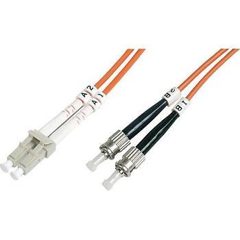 Beek BC-FO-5LCST-10 10 Mt LC-ST 50/125 OM2 Multimode Duplex Patch Cord Kablo