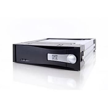 Icy Dock MB123SK-B Mobýle Rack 3.5 inch x 1 Yuva 5.25 inch Çevirici Disk Kýzaðý