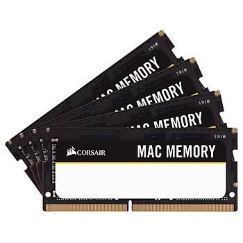 Corsair CMSA64GX4M4A2666C18 64 GB (4x16) 2666MHz CL18 Mac Notebook Bellek