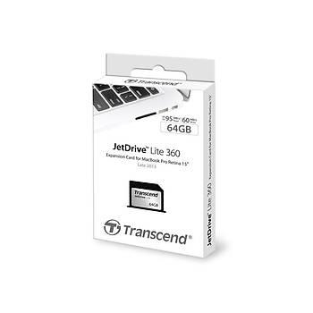 Transcend TS64GJDL360 64 GB Jetdrýve Lýte 360 95/55Mb/s  Geniþleme Kartý