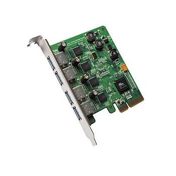 Highpoint RU1144A Usb 3.0 Pcý X2.0 X4 Kontrol Kartý