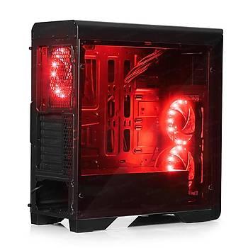Dark DKCHN10PROR750BR 750W 80+ Bronze N10 Pro 3x12cm Mavi Fanlý Fan Kontrolcülü ATX Bilgisayar Kasasý