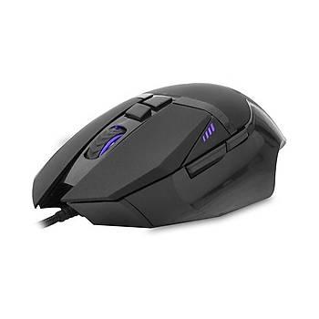 Everest SM-GX7 USB 2400 Dpi 7 Tuþlu Siyah Kablolu Oyuncu Mouse