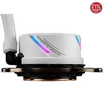 Asus ROG STRIX LC 360 3x12 cm RGB Fan Intel/Amd Beyaz Sývý Soðutma Sistemi