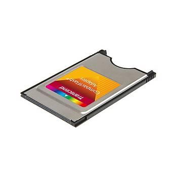 Transcend TS0MCF2PC PCMCIA Adaptörü CF Hafýza Kartý Ýçin