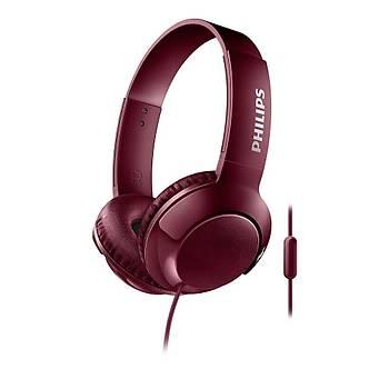 Philips SHL3075RD/00 Stereo Kafabantlý Mikrofonlu Kýrmýzý Kulaklýk