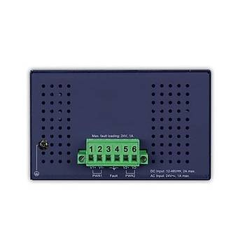Planet PL-ISW-1600T 16 Port 10/100TX Fast Endüstriyel Ethernet Switch