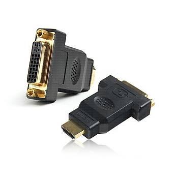 Dark DK-HD-AMHDMIXFDVI DVI-D 24+5 to HDMI Diþi-Erkek Dönüþütürücü Adaptör