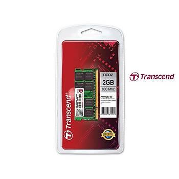 Transcend JM800QSU-2G 2 GB DDR2 800MHZ CL6 Notebook Bellek