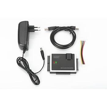 Digitus DA-70148-4 USB 2.0 to IDE/SATA3 SSD Güç Adaptörlü Dönüþtürücü Adaptörü