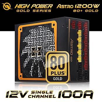 High Power HPJ-1200GD-F14C 1200W 80+ Gold Astro 14cm Güç Kaynağı