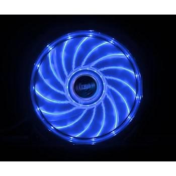 Akasa AK-FN091-BL Vegas 12 cm 15 Ledli Mavi Bilgisayar Kasa Faný