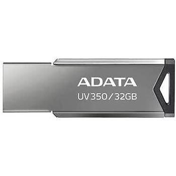 Adata AUV350-32G-RBK 32 GB UV350 USB 3.2 Gümüþ USB Flash Bellek