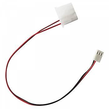 Dark DK-CB-P105 P105 4 Pin Molex - 3 Pin Fan Erkek Dönüştürücü Kablo