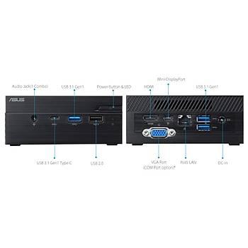 Asus PN40 BC417ZV Celeron J4005 2.0Ghz 4 GB 64 GB Win10 Mini Bilgisayar