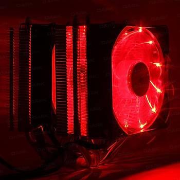 Dark DKCCX94RD Freezer X94 Ryzen 12 cm Kýrmýzý Led Fanlý Ýþlemci Soðutucusu