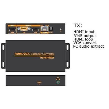 Beek BS-HE200 200 Mt HDMI to CAT HDMI 1080P Sinyal Uzatma Cihazý