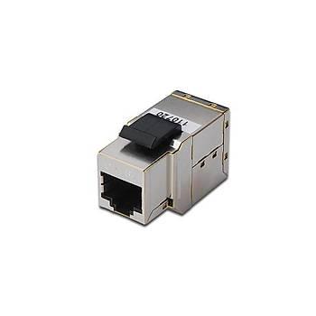 Digitus DN-93906 CAT6A RJ45 Diþi/Diþi Zýrhlý Ekranlý Adaptörü