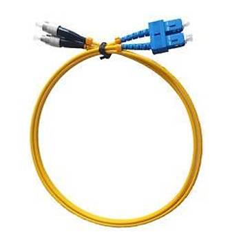 Beek BC-FO-9FCSC-01 1 Mt FC-SC 09/125 LSZH SingleMode Duplex Patch Cord Kablo