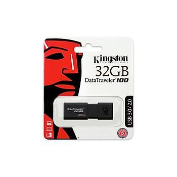Kingston DT100G3/32GB 32 GB Datatraveler 100 G3 USB 3.1 Gen1 Flash Bellek