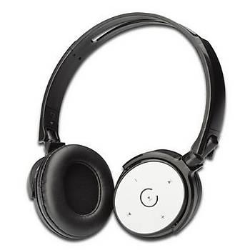 Digitus DA-30113 Kafa Bantlý Sarj Edilebilir Katlanýr Bluetooth Mikrofonlu Kulaklýk
