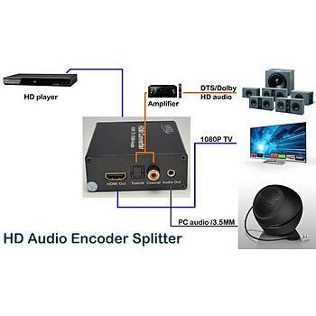 Beek BS-HHA HDMI to HDMI Diþi-Diþi Ses Sinyal Çevirici Adaptör