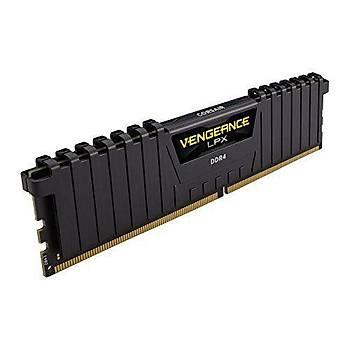 Corsair CMK8GX4M1Z3200C16 8 GB DDR4 3200Mhz CL16 LPX Vengeance Siyah Bilgisayar Bellek