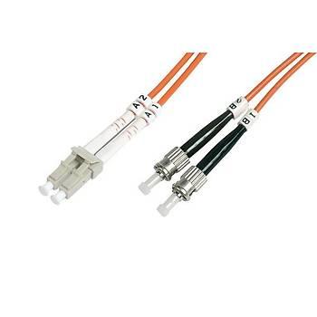 Beek BC-FO-6LCST-05 5 Mt LC-ST 62.5/125 OM1 Multimode Duplex Patch Cord Kablo