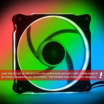 Dark DKCF121RGB 12 cm RGB Ring 6 Pin RGB Kit Uyumlu Kasa Faný