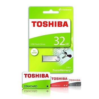 Toshiba THN-U401S0320E4 32 GB U401 USB 2.0 Owahri Metal Flash Bellek