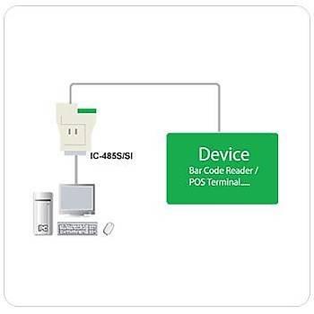 Aten IC485S RS232 RR422 RR485 to RJ11 Arayüz Çevirici Güç Adaptörü