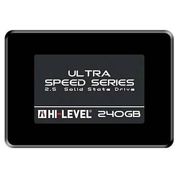 Hi-Level HLV-SSD30ULT/240G 240 GB 550/530 Mb/S Ultra 2.5 inch SSD Harddisk