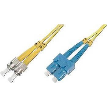 Beek BC-FO-9STSC-03 3 Mt ST-SC 09/125 LSZH SingleMode Duplex Patch Cord Kablo