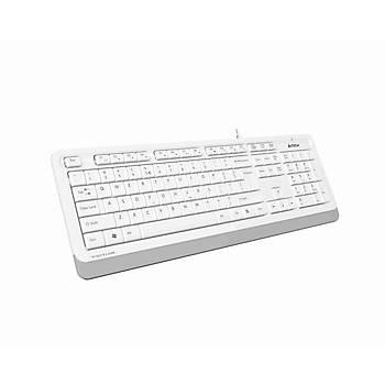 A4 Tech FK10 Q TR USB Multimedia Fstyler Beyaz Kablolu Klavye