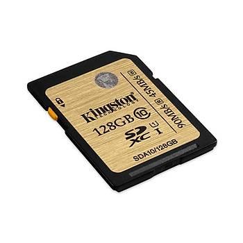 Kingston SDA10/128GB 128 GB SDXC Class10 Uhs-I SD Hafýza Kartý