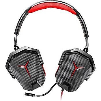 Lenovo GXD0J16085 Kablolu Siyah Kýrmýzý Gaming Mikrofonlu Kulaklýk