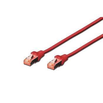 Beek BC-S6010R 1 Mt CAT6 S/FTP Pýmf AWG26 Kýrmýzý Lsoh Patch Cord Kablo