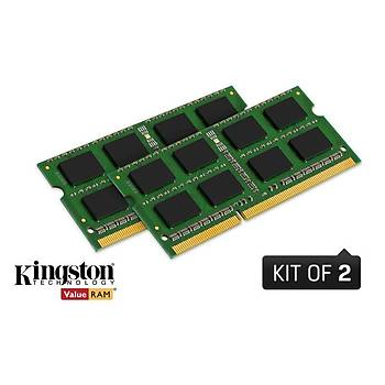 Kingston KVR16S11K2/16 16 GB (2X8) DDR3 1600MHZ CL11 Notebook Bellek