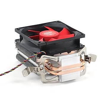 Dark DKCCX90 Freezer X90 Intel/Amd/Ryzen 9.2 cmKýrmýzý Fanlý Ýþlemci Soðutucusu