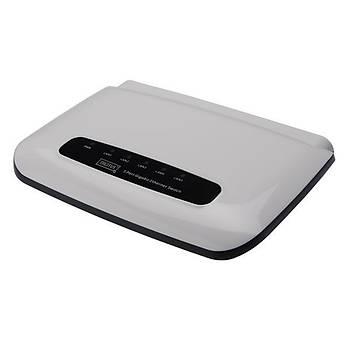 Digitus DN-80072 5 Port 1000Base-T Gigabit Masaüstü Beyaz Switch