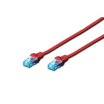 Beek BC-U5005R 0.50 Mt CAT5E U/UTP AWG26 Kýrmýzý Patch Cord Kablo