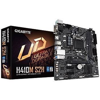 Gigabyte H410M S2H SC-1200 H410 DDR4 2933MHZ M2 microATX Intel Anakart