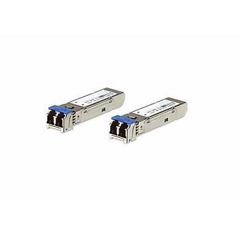Aten 2A-136G 550 Mt 1.25G 2 adet Fiber Multi Mode SFP Modül