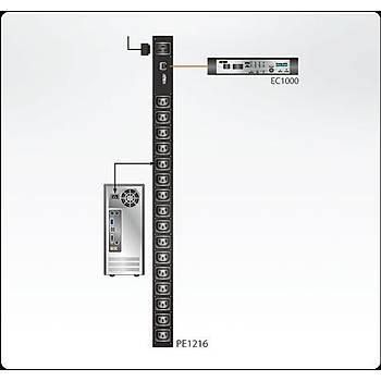 Aten PE1216G 16 Port IEC320 16A C13 PDU/Power Elektrik Güç Daðýtým Ünitesi