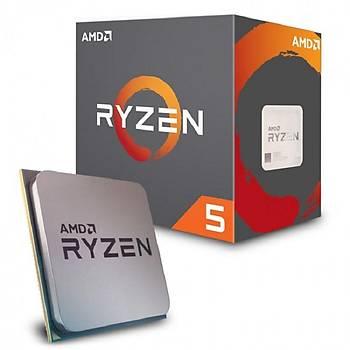 Amd YD260XBCAFBOX Ryzen 5 2600X SC-AM4 3.6Ghz 16Mb 95W AMD Ýþlemci